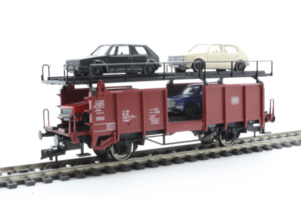 Fleischmann 5225  Double-deck car transporter, DB