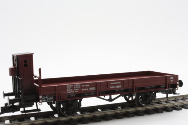 Fleischmann 5254  Flat wagon with brakeman's, DRG