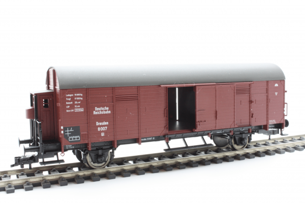 Fleischmann 5309 Box goods wagon with brakeman's cab, DRG