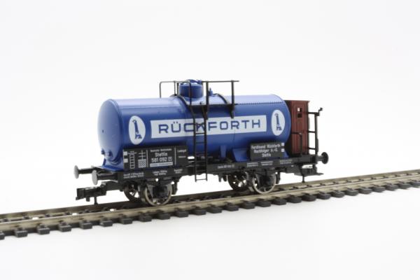 "Fleischmann 5436  Tank wagon ""Ruckforth"", w/ brakeman's cab, DRG"