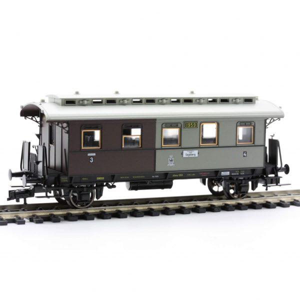 Fleischmann 5851  3rd/4th Class Passenger Wagon, K.P.E.V