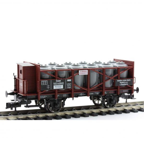 Fleischmann 5856  Acid Tank Wagon with brakemans cab, KPEV