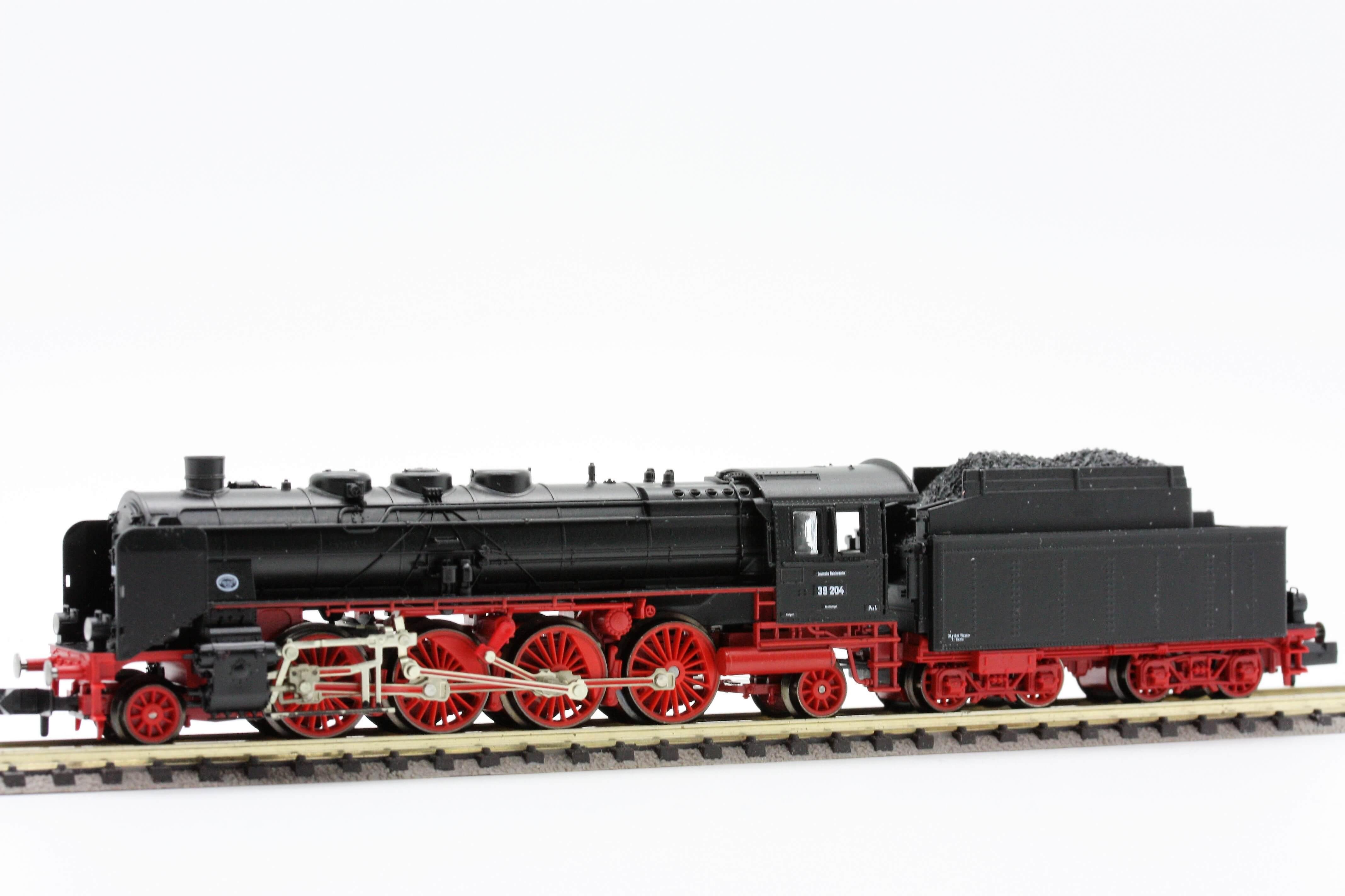 Fleischmann 7139  Steam locomotive of the DRG, Class 39 with tender