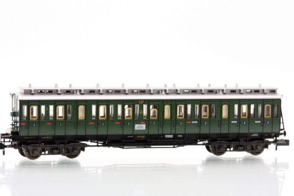 Fleischmann 8087  3rd class compartment car type C4 Pr04, DRG