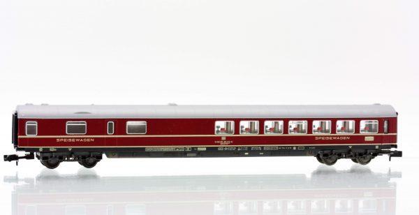 Fleischmann 8112  Express dining coach, of the DB
