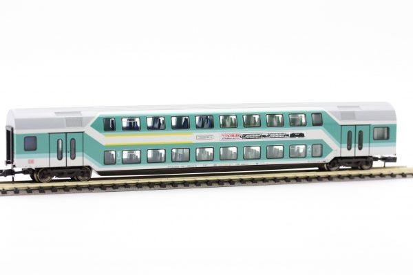 """Fleischmann 8121 97  1st/2nd class double-deck coach """"Fleischmann"""", DB AG"""