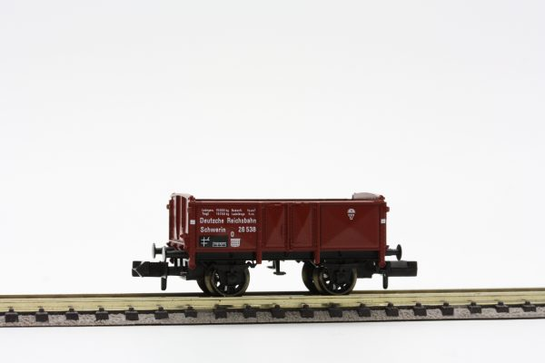 "Fleischmann 8208  Open goods wagon type O ""Schwerin"" of the DRG"