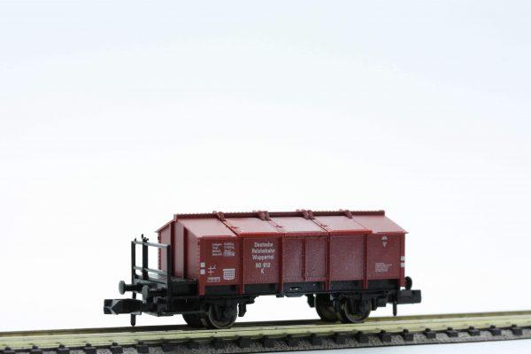Fleischmann 8210  Hinged lid wagon, type K 25 of the DRG