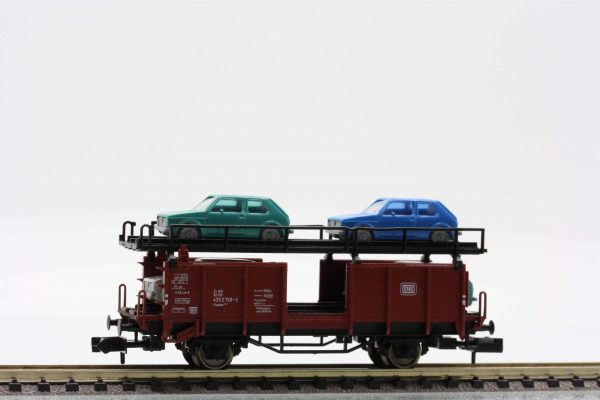 Fleischmann 8225  Double-decker car transporter w/cars, DB