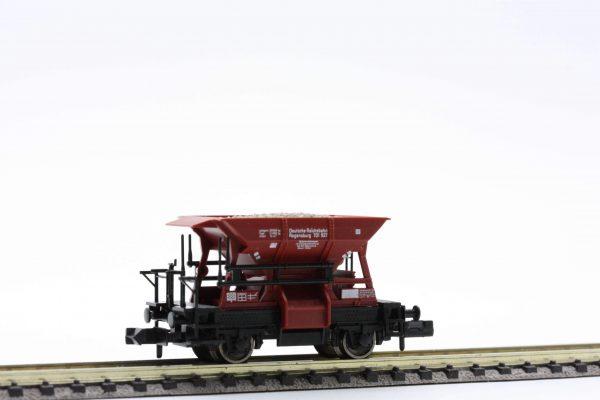"""Fleischmann 8228  Talbot ballast wagon with cargo """"gravel"""", of the DRG"""