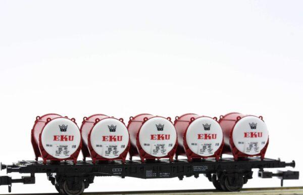 Fleischmann 8230  Container wagon EKU Brewery