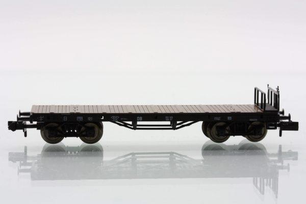 Fleischmann 8286  Stake wagon with brakemans platform SSk 07 of the DB