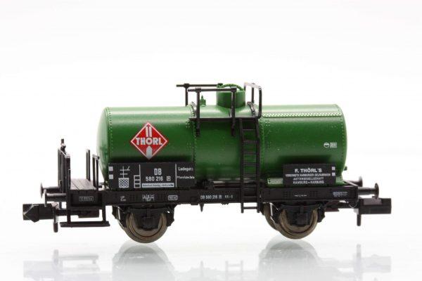"""Fleischmann 8425  Tank wagon with brakemans cab, DB """"Thorl"""""""