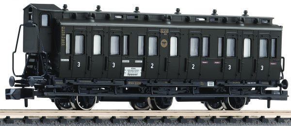 Fleischmann 806504  2nd/3rd class compartment coach type BC3 pr 03, DRG