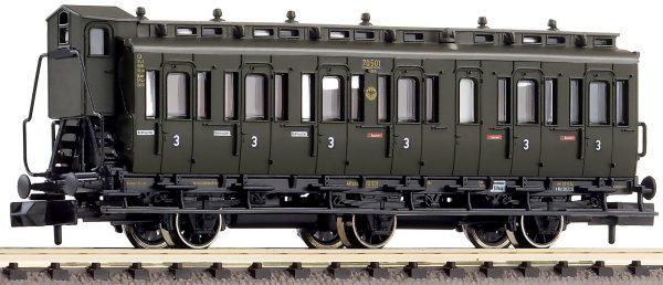 Fleischmann 807005  3rd class compartment coach, type C3 pr 11, DRG