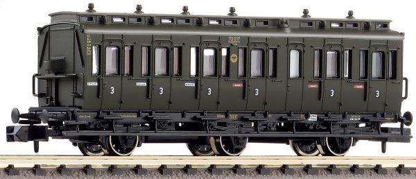 Fleischmann 807006  3rd class compartment coach without brakemans cab, type C3 pr 11, DRG