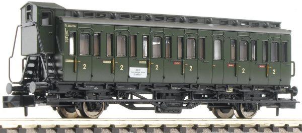 Fleischmann 807101  2nd class compartment coach with brakemans cab, type C pr 21, DB