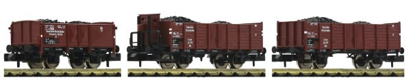 Fleischmann 820803  3 piece set coal train, DRB