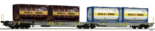 Fleischmann 825007  Articulated double pocket wagon T2000, AAE