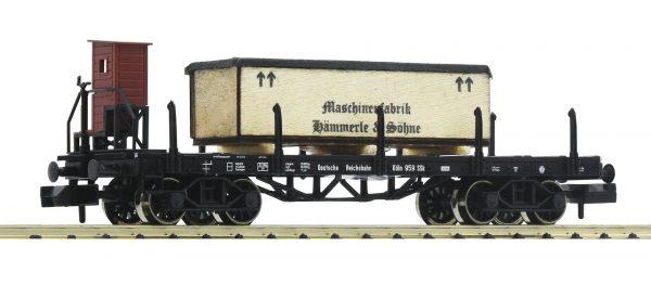 Fleischmann 828506  Stake wagon with brakemans cab type SSk Köln, DRG