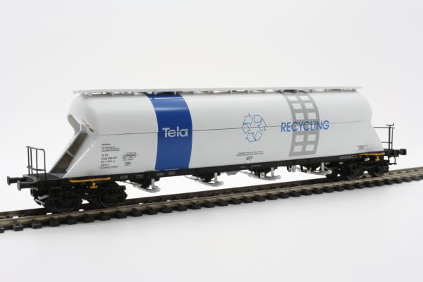 "Heris 13513  SBB Silo Wagon ""TELA RECYCLING"""