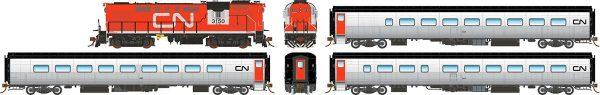 Rapido Tempo - Rapido Trains 131002 Canadian National Tempo Set CN 2