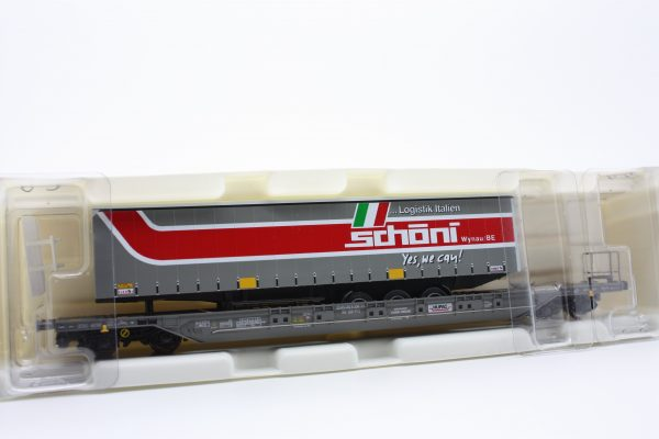 """Kombimodell 10320.09  Pocket Wagon T4.1 Hupac / SBB """"SCHONI"""""""