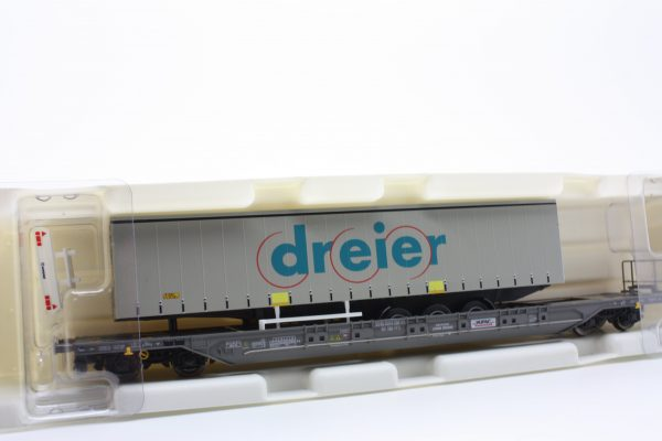 "Kombimodell 10320.09  Pocket Wagon T4.1 Hupac / SBB ""DRIER"""