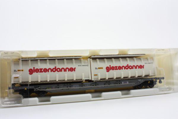 """Kombimodell 10320.09  Pocket Wagon T4.1 Hupac / SBB  """"GIEZENDANNER"""""""