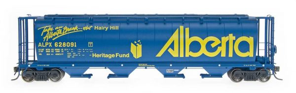 "InterMountain Railway 45118-61 Alberta ""Take a Break"" - ALPX Cyl Covered Hopper"