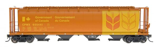 InterMountain Railway 45120-25  Canadian Wheat Board - Govt. Car - CPWX Cyl Covered Hopper