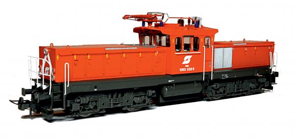 Jägerndorfer 26030 Electric Locomotive Rh 1063 032 ÖBB