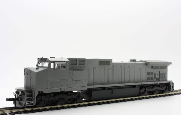 KATO 37-1200  Undecorated C44-9W Diesel with High Numberboards