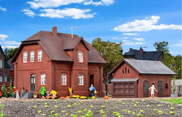 Kibri 8190 Settlement house with annex in Bottrop