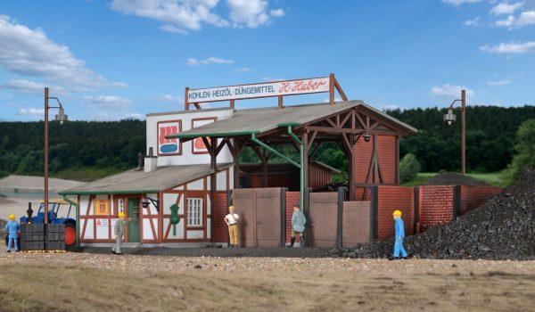 Kibri 9442  Coal Dealer facility
