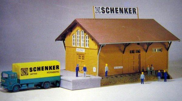 Kibri 9468  Schenker Warehouse