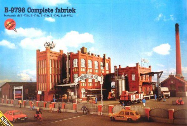 Kibri 9798  Complete Factory Complex