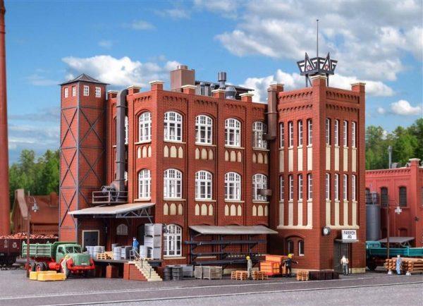 Kibri 9788  Factory from the Wilhelminian Era