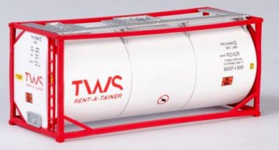 """B-Models LT201  20' Tank Container """"TWS"""" Decorative Only"""