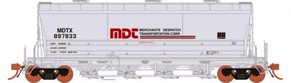 Rapido Trains  ACF PD3500 Flexi Flo: MDTX Repaint 963H #897857