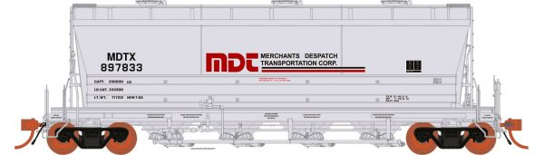 Rapido Trains  ACF PD3500 Flexi Flo: MDTX Repaint 963H #897851