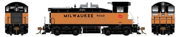 Rapido Trains  Milwaukee Road Diesel Locomotive SW1200