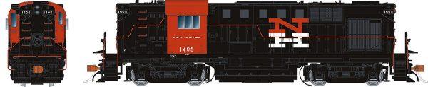 Rapido Trains 31515   New Haven (McGinnis) Diesel Locomotive Alco RS-11 (DCC Sound)
