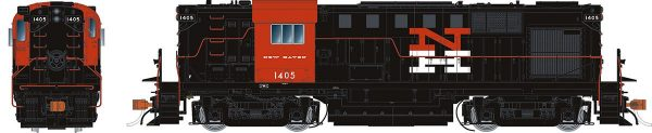 Rapido Trains 31012   New Haven (McGinnis) Diesel Locomotive Alco RS-11 (DC Silent)