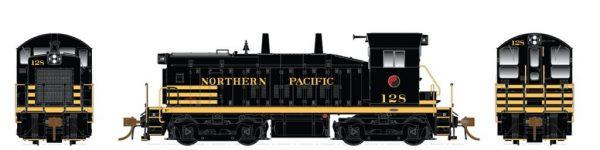 Rapido Trains  Northern Pacific Diesel Locomotive SW1200