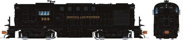 Rapido Trains 31018   Norfolk & Western Diesel Locomotive Alco RS-11 (DC Silent)