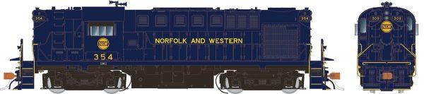 Rapido Trains 31021   Norfolk & Western Diesel Locomotive Alco RS-11 (DC Silent)