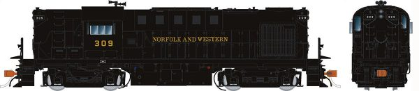 Rapido Trains 31517   Norfolk & Western Diesel Locomotive Alco RS-11 (DCC w/Sound)