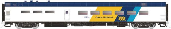 Rapido Trains  ONR (Chevron)  Pullman-Standard Lightweight Dining Car