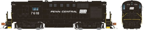 Rapido Trains 31031   Penn Central (ex-PRR) Diesel Locomotive Alco RS-11 (DC Silent)